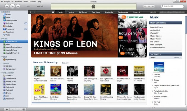 how to get music from iphone apple store to itunes