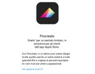 Apple regala l'applicazione Procreate Pocket fino al 28 Luglio