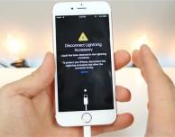 iOS 10 ti avvisa se la porta Lightning entra a contatto con un liquido