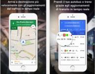 Nuova interfaccia e nuove aree di interesse in Google Maps