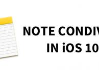 Note condivise su iOS 10: ecco come funzionano – GUIDA