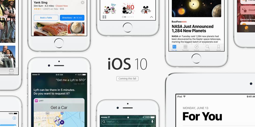 Appare in rete uno speed test che confronta iOS 9 e iOS 10
