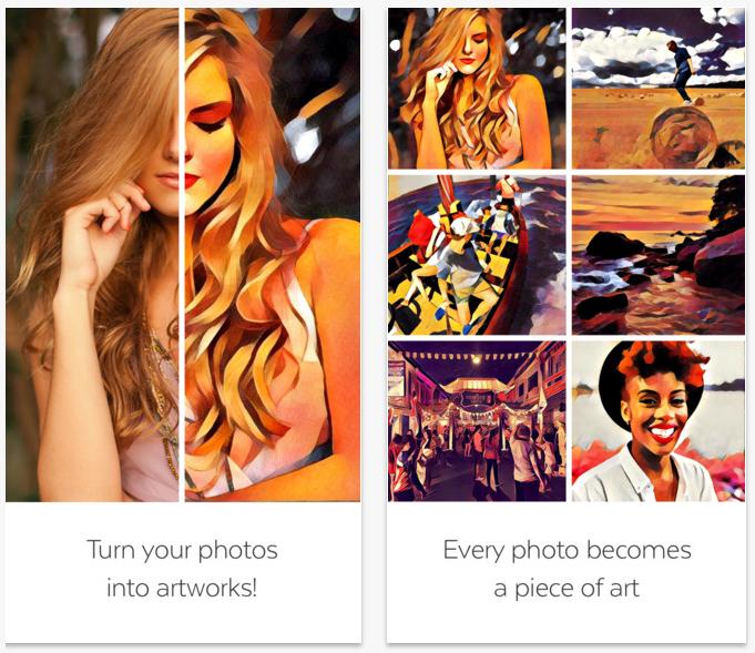 Trasforma le tue foto in opere d'arte con Prisma