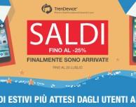 SALDI TrenDevice su iPhone e iPad Ricondizionati Garantiti 2 anni!