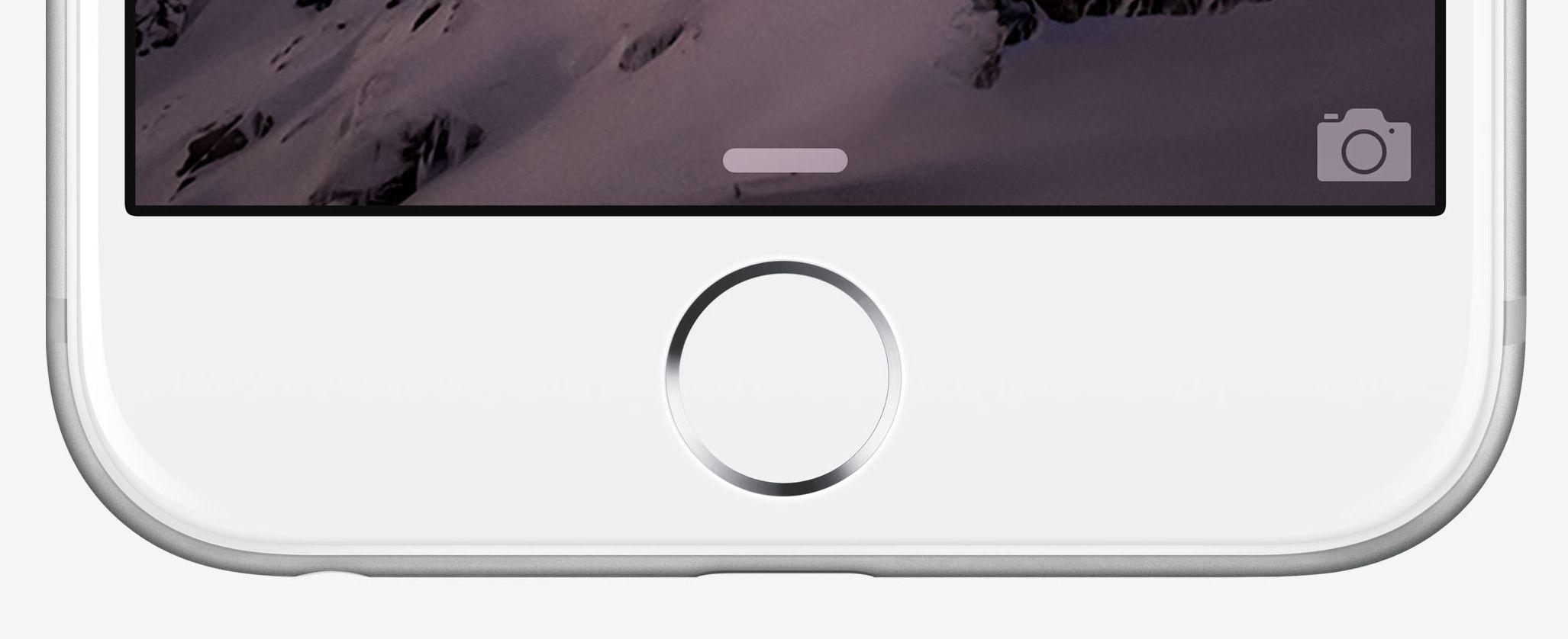 Il prossimo iPhone senza pulsante Home?