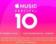 Svelati gli artisti che parteciperanno all'Apple Music Festival 2016