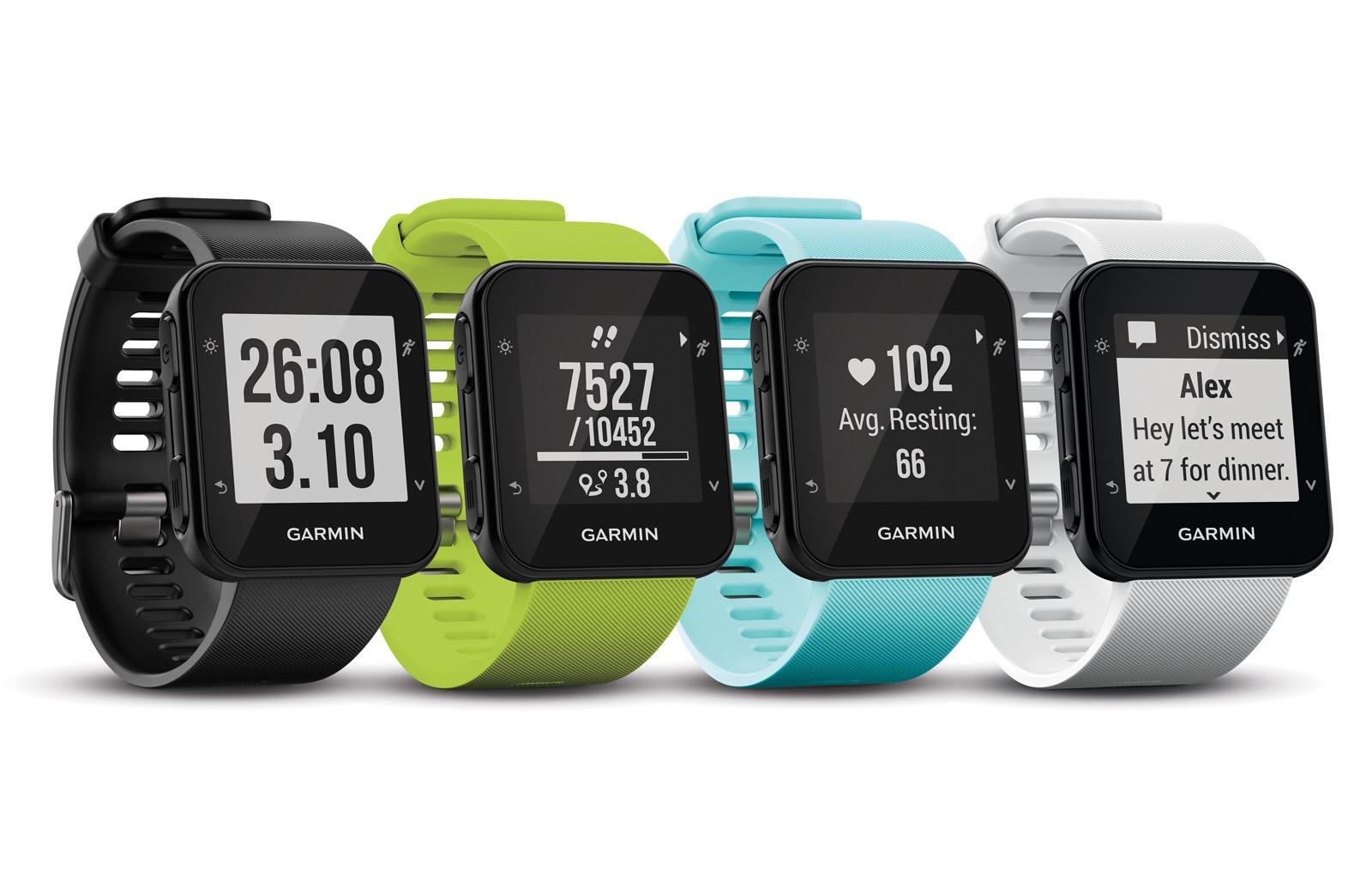 Ecco i nuovi smartwatch di Garmin