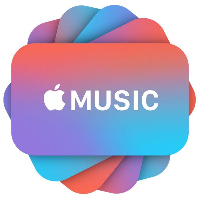Apple attiva le carte regalo Apple Music: 99$ per 12 mesi di abbonamento!