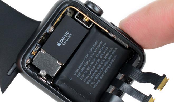 L'Apple Watch 2 smontato da iFixit: batteria più potente
