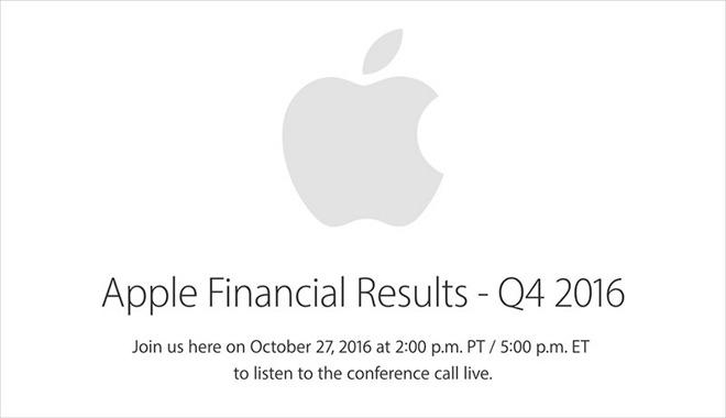 Il 27 ottobre scopriremo quanti iPhone 7 ha venduto Apple