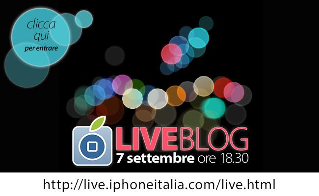 Presentazione iPhone 7: è iniziato il LIVE blog di iPhoneItalia!