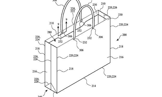 Apple brevetta anche la busta realizzata con carta riciclata
