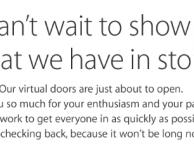 L'Apple Online Store è chiuso in attesa dell'evento di oggi