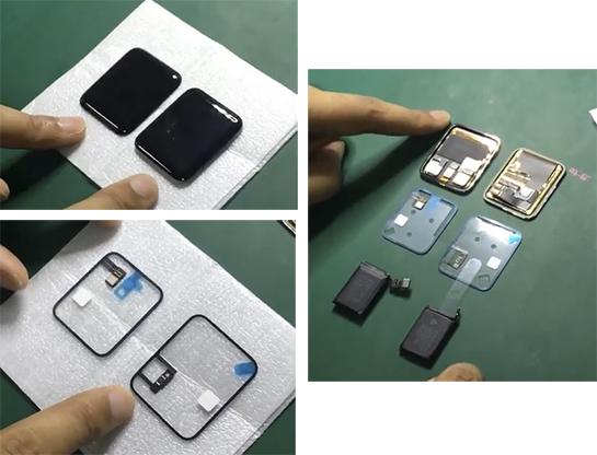 Display e batteria dell'Apple Watch 2 mostrati in un video – Rumor