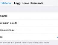 Come consentire a Siri di leggere il nome del chiamante