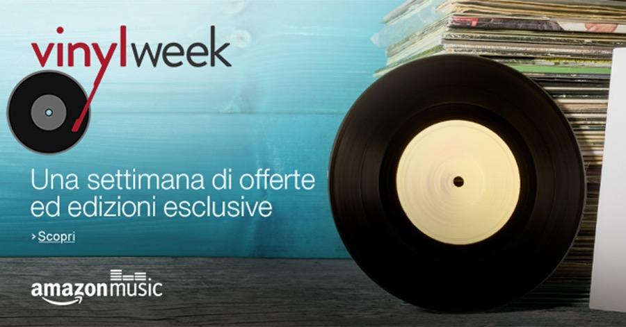 Amazon Vinyl Week: una settimana di promozioni ed esclusive dedicate ai vinili
