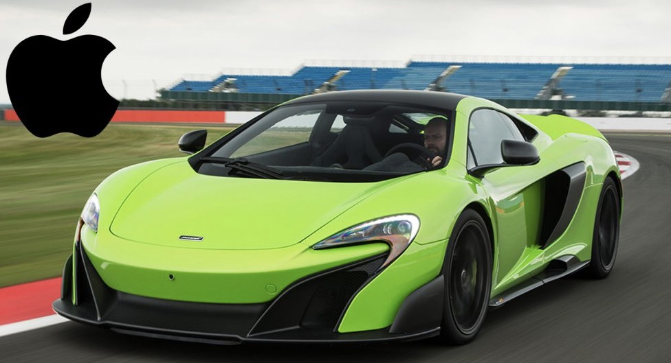 Clamoroso: Apple vuole acquisire McLaren!