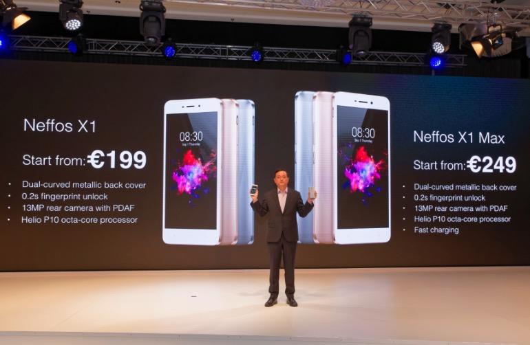 TP-Link presenta la nuova serie di smartphone X della sua gamma Neffos – IFA 2016