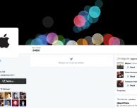 @Apple arriva su Twitter a margine della presentazione di iPhone 7