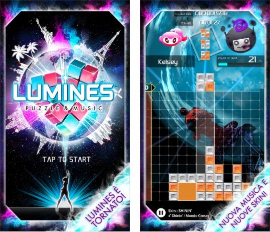 Lumines Puzzle & Musica: famoso puzzle musicale ora anche per iPhone e iPad