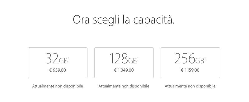 32, 128 o 256 GB: quale iPhone 7 acquistare in base alle tue esigenze