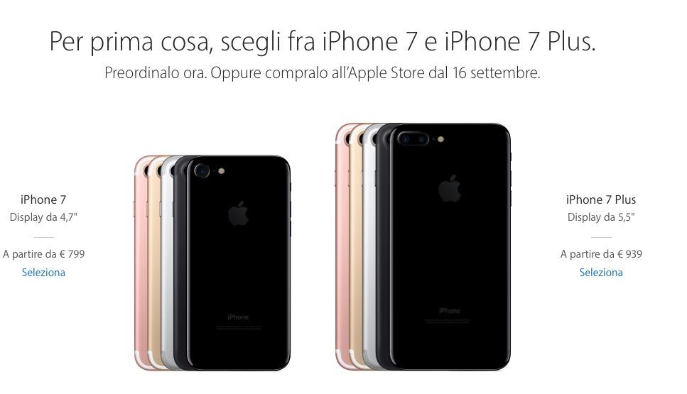 iPhone 7 e Apple Watch 2: al via i pre-ordini anche in Italia!
