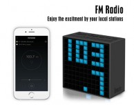 Divoom TimeBox: potente speaker bluetooth con display in pixel art, radio, sveglia e termometro