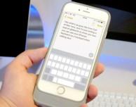 Ecco come usare la tastiera di iPhone 6s e 7 come un trackpad