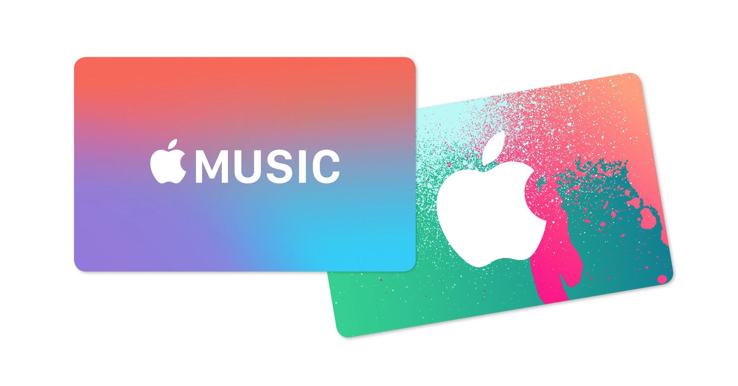Arrivano le carte regalo per Apple Music con 2 mesi di musica in regalo