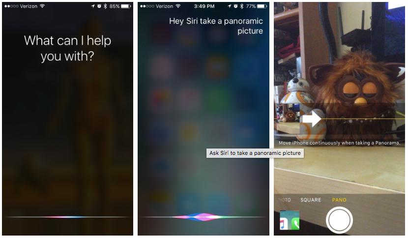 Come scattare una foto utilizzando Siri su iOS 10