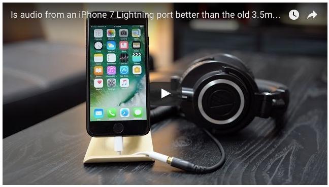 Gli EarPods lightning di Apple suonano meglio di quelli con il tradizionale mini jack da 3.5mm