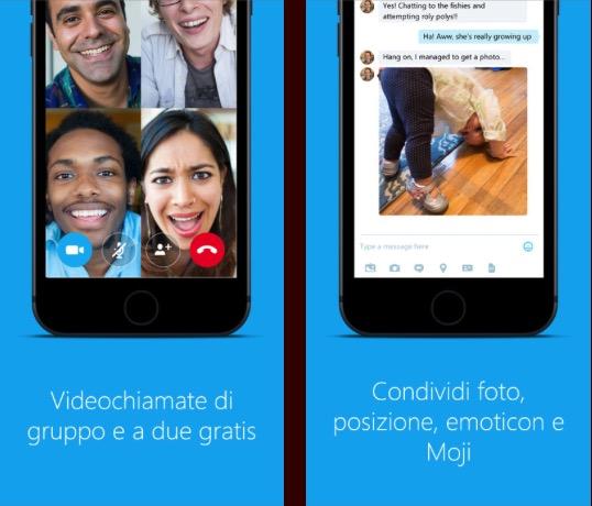 Skype si aggiorna: ora puoi avviare una chiamata con Siri!