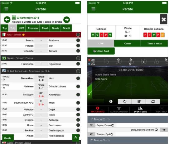 Come Seguire Le Partite Di Calcio Su Iphone Iphone Italia