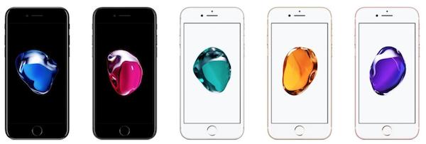 Ecco i nuovi sfondi per iPhone 7 e 7 Plus