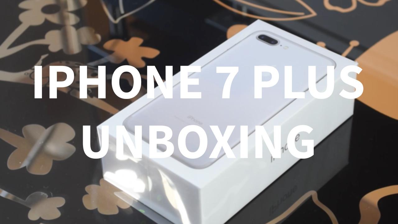 Unboxing iPhone 7 Plus – iPhoneItalia.com [VIDEO]