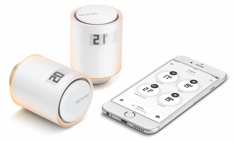 Netatmo presenta le valvole smart homekit che si collegano for Valvole termostatiche netatmo