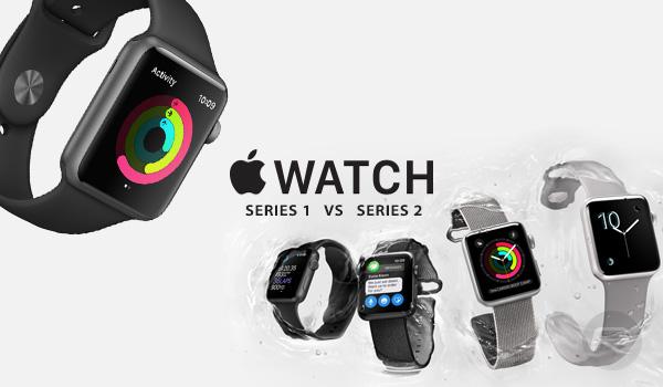Apple Watch Series 2 vs Apple Watch Series 1