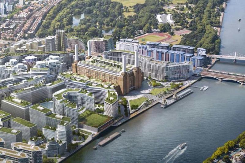 Centrale di Battersea, dai Pink Floyd all'Apple: la storia continua