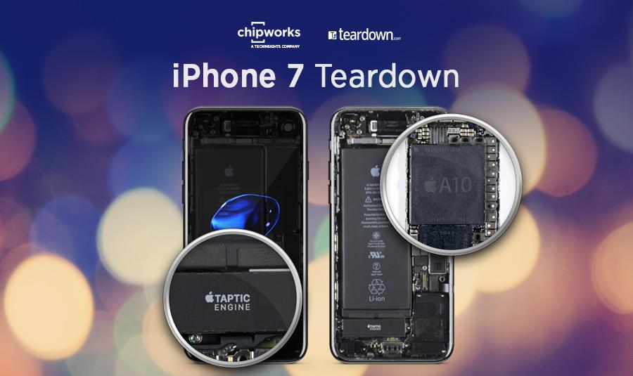 Teardown iPhone 7: modem Intel e 2GB di RAM