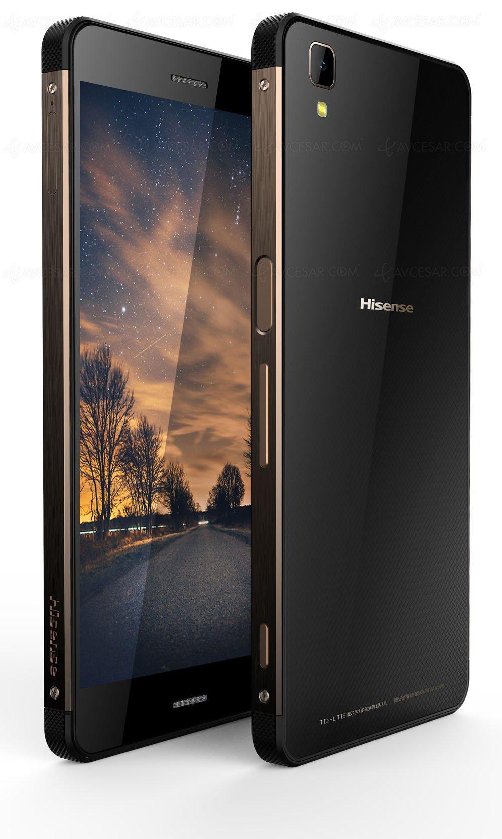 I nuovi smartphone di Hisense presentati a IFA 2016