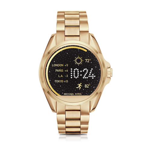 Michael Kors presenta i suoi smartwatch per iOS e Android
