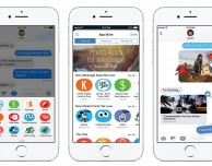 L'App Store di iMessage ha già migliaia di app e pacchetti adesivi