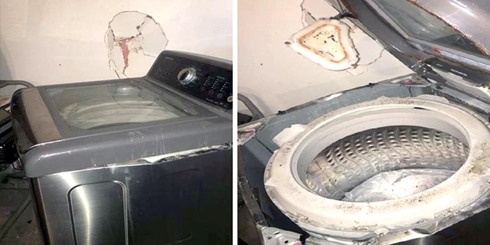 Samsung fa il botto: dopo il Note 7 iniziano ad esplodere anche le lavatrici!