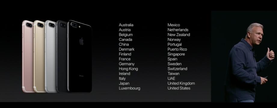 iPhone 7 si preordina dal 9 settembre, disponibile dal 16 settembre anche in Italia: si parte da 799€!