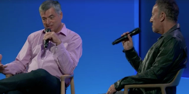 Eddy Cue ha intervistato Bruce Springsteen al Soho Apple Store