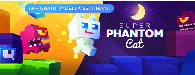 "L'app della settimana è ""Super Phantom Cat"", ora in offerta gratuita"