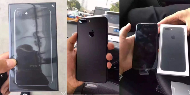 IPhone 7: ecco i primi unboxing della versione Black e Jet Black