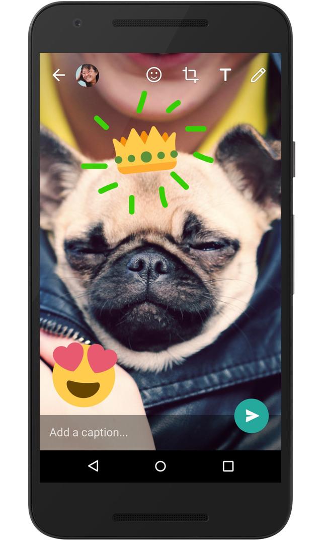 WhatsApp annuncia novità per personalizzare foto e video in-app