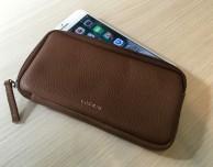 Recensione custodia astuccio con cerniera per iPhone 7 Plus by Lucrin