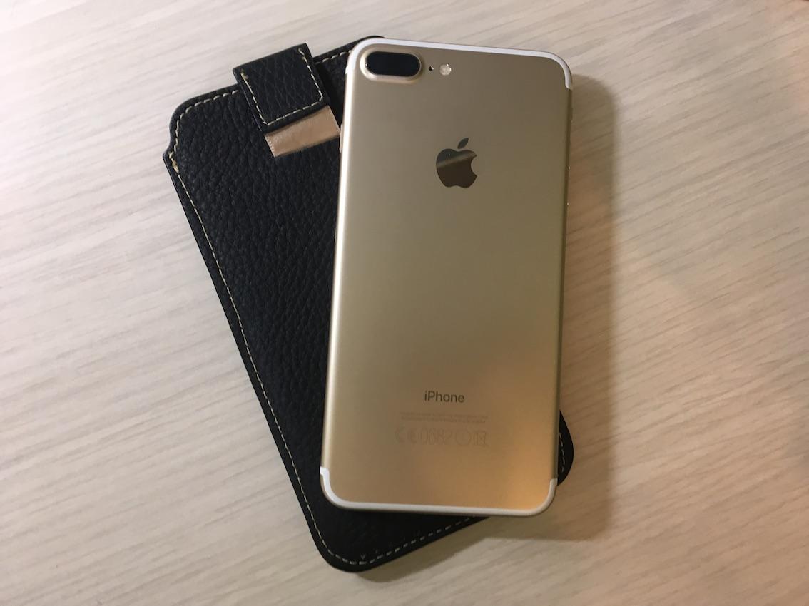 custodia a tasca iphone